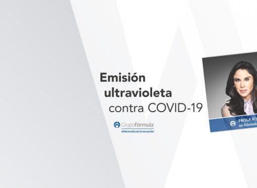 Emisión ultravioleta contra COVID-19
