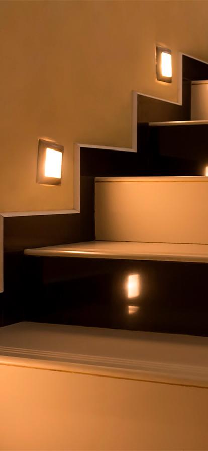 Walklights bronce